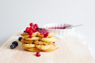 Berry Waffles