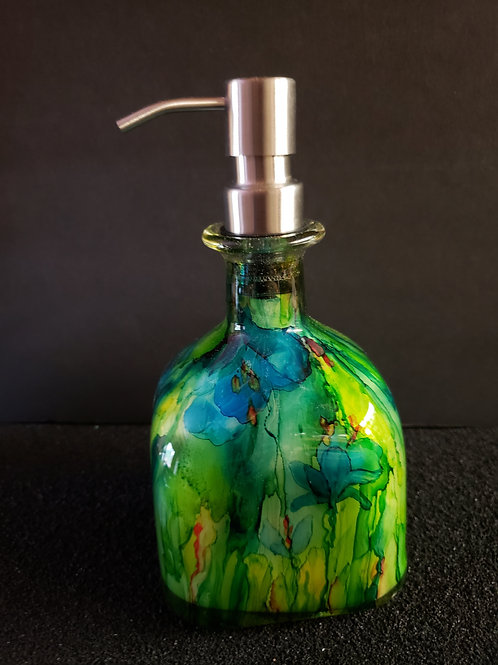 Patron Soap Dispenser (#155) Turquoise