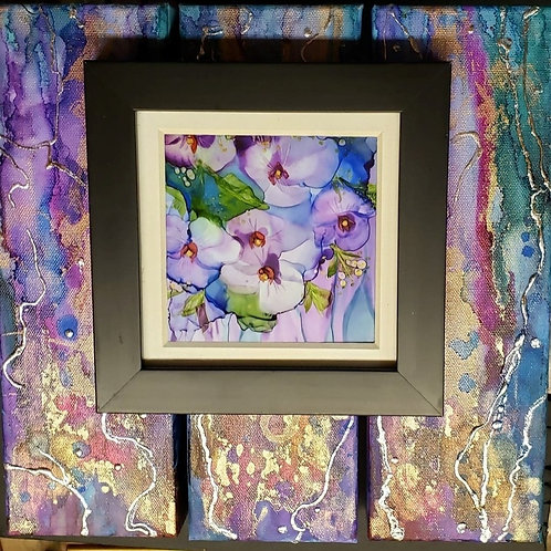 """Orchid Garden"" (#140) Wall Art"