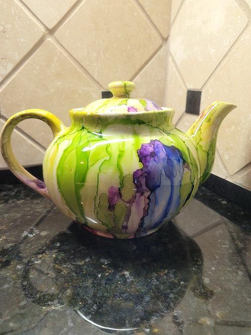 Tiffany Style Tea Pot #131
