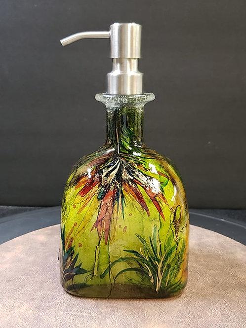 SOLD Patron Soap Dispenser Autumn  #155