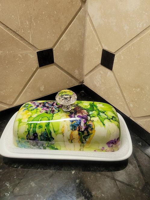 116 Tiffany Butter Dish