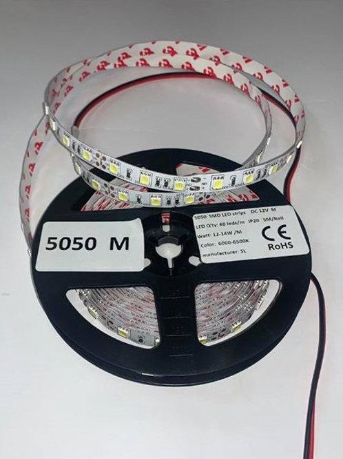LED Strip 5050M 60LED IP20 12V