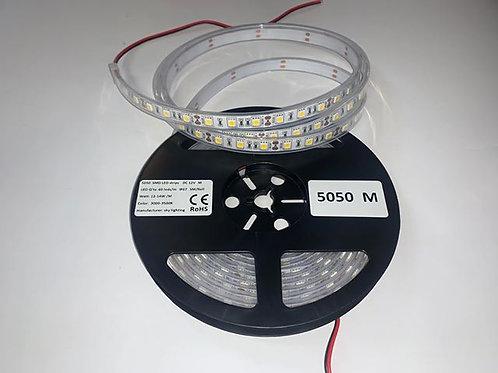 LED Strip 5050M 60 LED/meter IP67 (Waterproof) 12V
