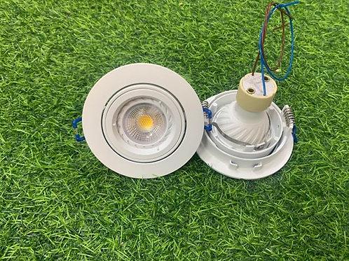 RD95A White Casing + Changeable GU10 6W Bulb