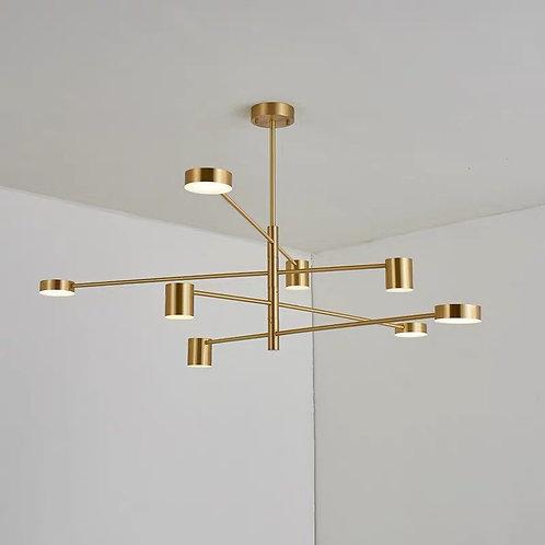 Pendant Light 5102-GD (6 Bulb)