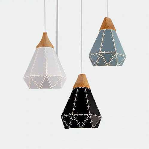 Pendant Light 5080 (Bulb x 3 Nos)