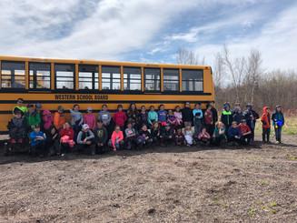 PEI Grade 4 Wetland Field Trips 2019