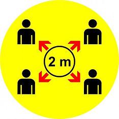 autocollant-de-plancher-coronavirus-quebec-distanciation-physique-sociale-pictogramme-jaun