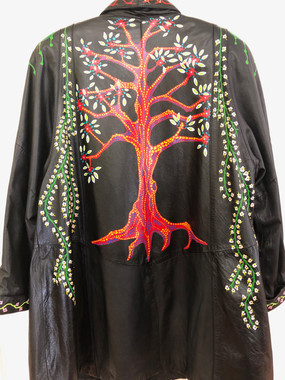 Tree of Life Jacket (back view)