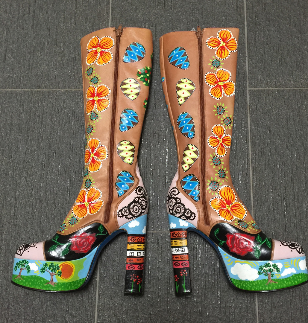 Cherokee's Boots