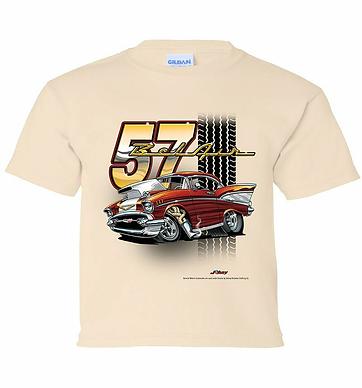 Youth 57 Bel Air Tooned up Tshirt (TDC-218YR)