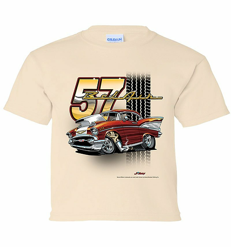 Youth 57 Bel Air Tooned up Tshirt (TDC-218YR)