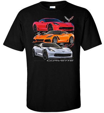 Corvette C7 T-shirt (TDC-246)