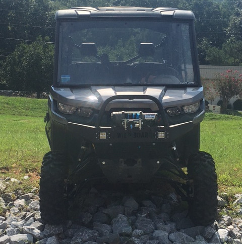 6IN LIFT WITH BUMPER / WINCH