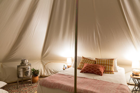 Clemons-Inside Tent with Lights.JPG
