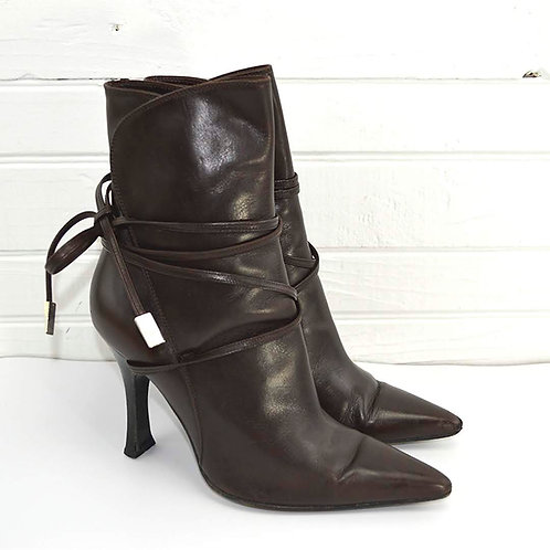 Versace Lace-Up Boots #163-37