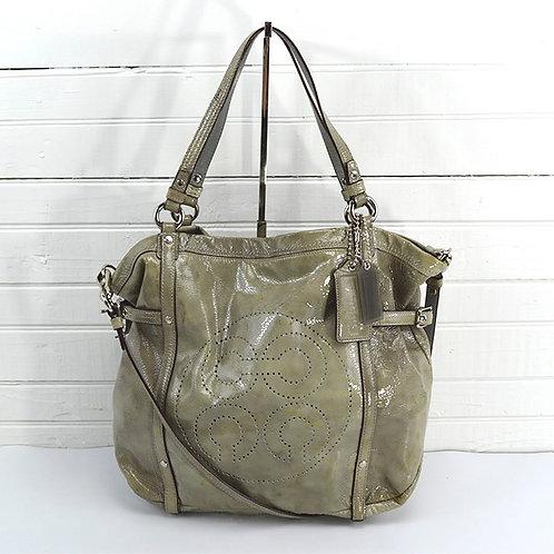 Coach Leather Shoulder Bag #166-14