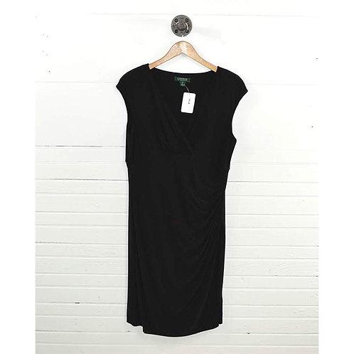 Lauren Ralph Lauren Jersey Wrap Dress #166-10