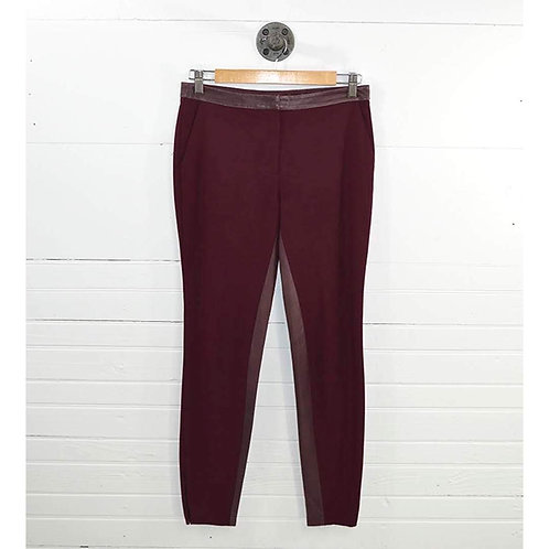 Elizabeth And James Leather Trim Trousers #186-72
