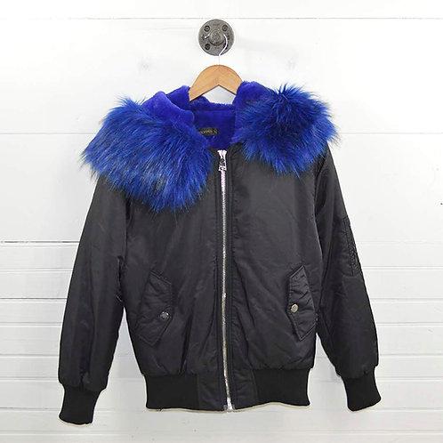 Storets Fur Hooded Puffer Jacket #177-152