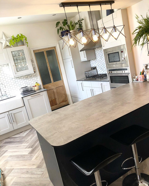 Kitchen and dining re-design
