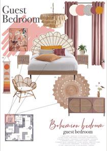 Bohemian Bedroom Moodboard