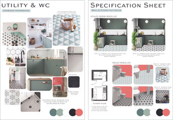 Utility and WC Moodboard