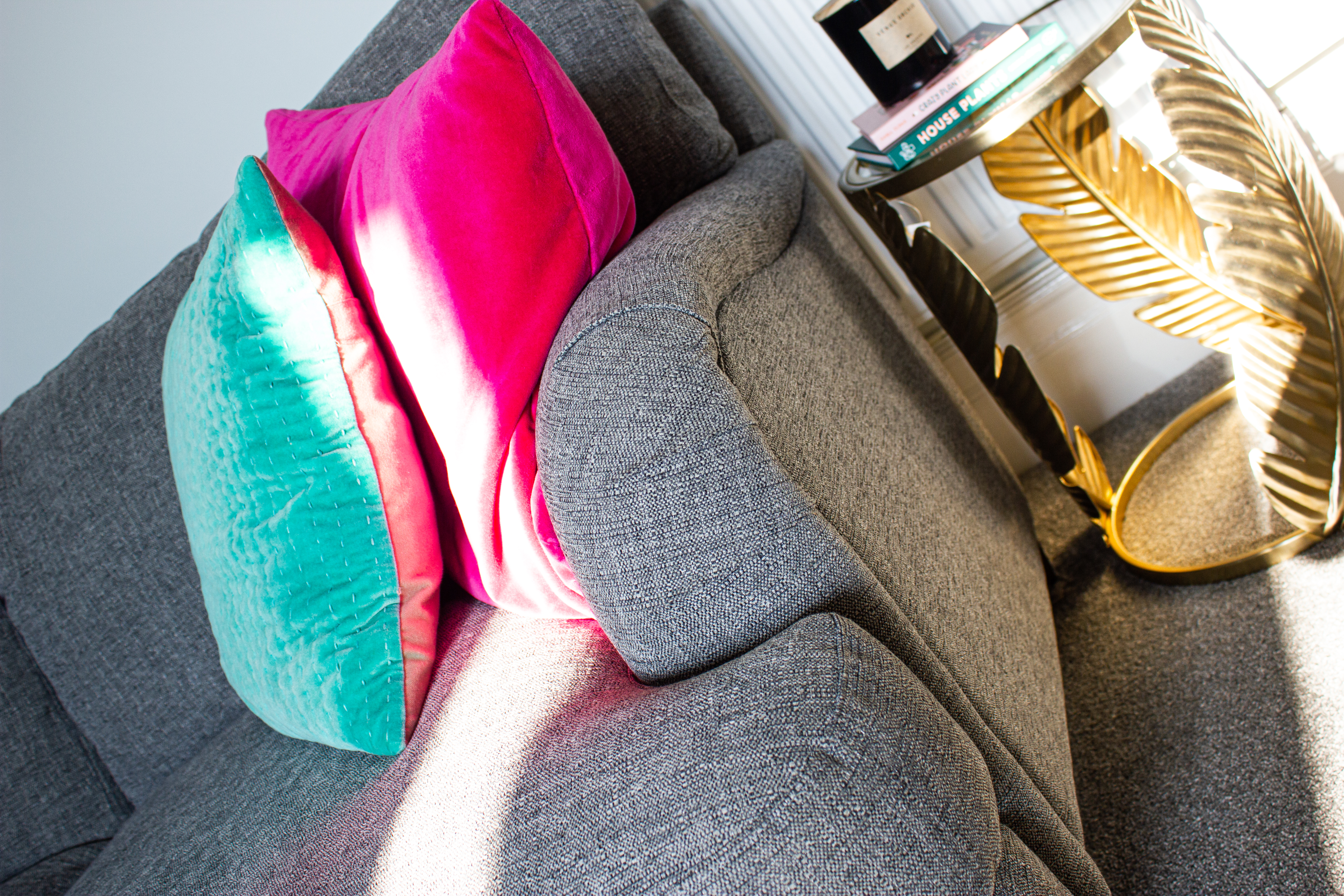 Glamorous lounge design