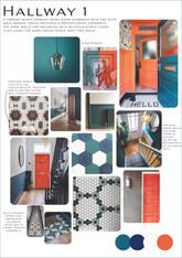 Hallway Moodboard & Colour Palette