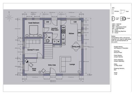 Ground Floor - Floorplan re-design