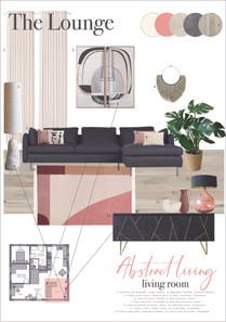 Open plan living room Moodboard