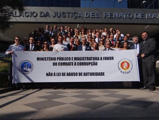 Magistrados capixabas contra Lei de Abuso de Autoridade