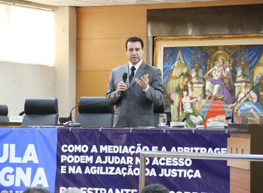 Ano letivo da Esmages tem aula magna com ministro do STJ, Nefi Cordeiro