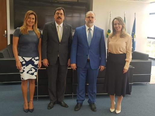 Presidente da AMB é recebido pelo procurador-geral da República Augusto Aras