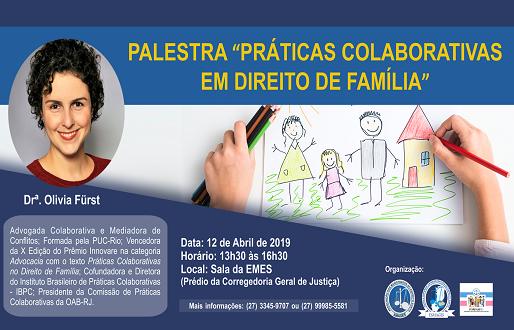Esmages e FORFAM promovem palestra Práticas Colaborativas em Direito de Família