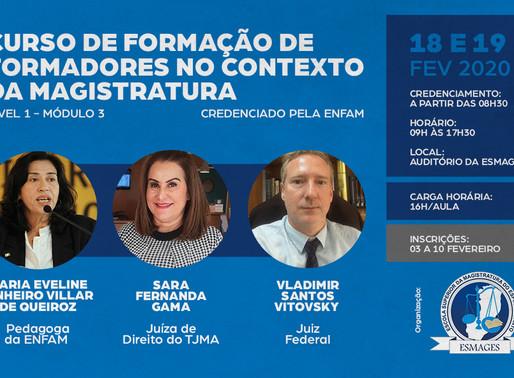 Escola Superior da Magistratura do Estado do Espírito Santo abre as inscrições para o FOFO lll