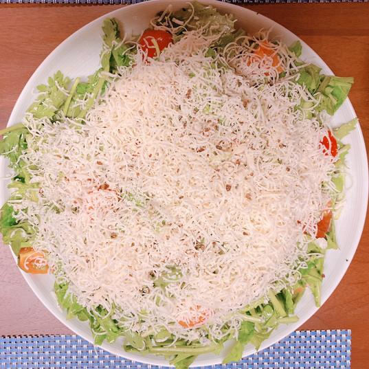 春菊とルッコラのサラダ