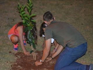 A horta como instrumento de             Educação Ambiental