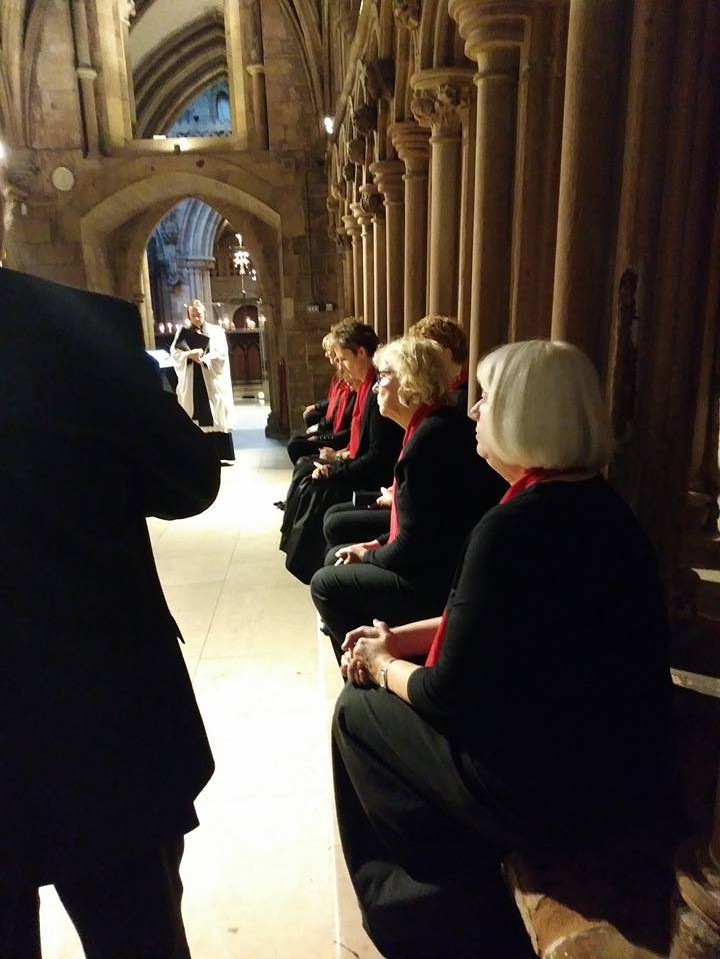 Lichfield Cathedral Evensong. Sept 2017