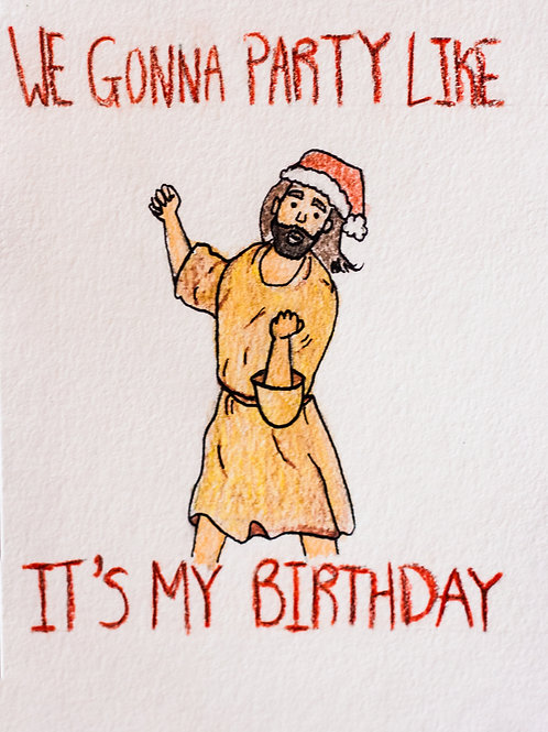 Jesus Christmas Card