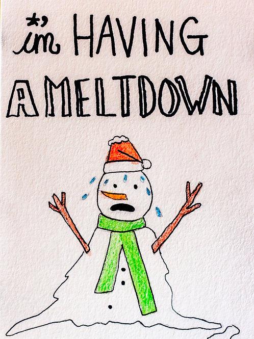 Meltdown Christmas Card