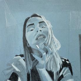 Eccentric Self-Portrait