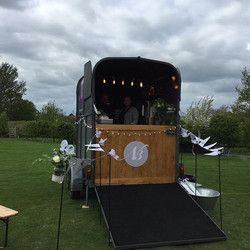 All set up at the wedding of F&P #sussex