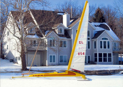 Custom ice boat