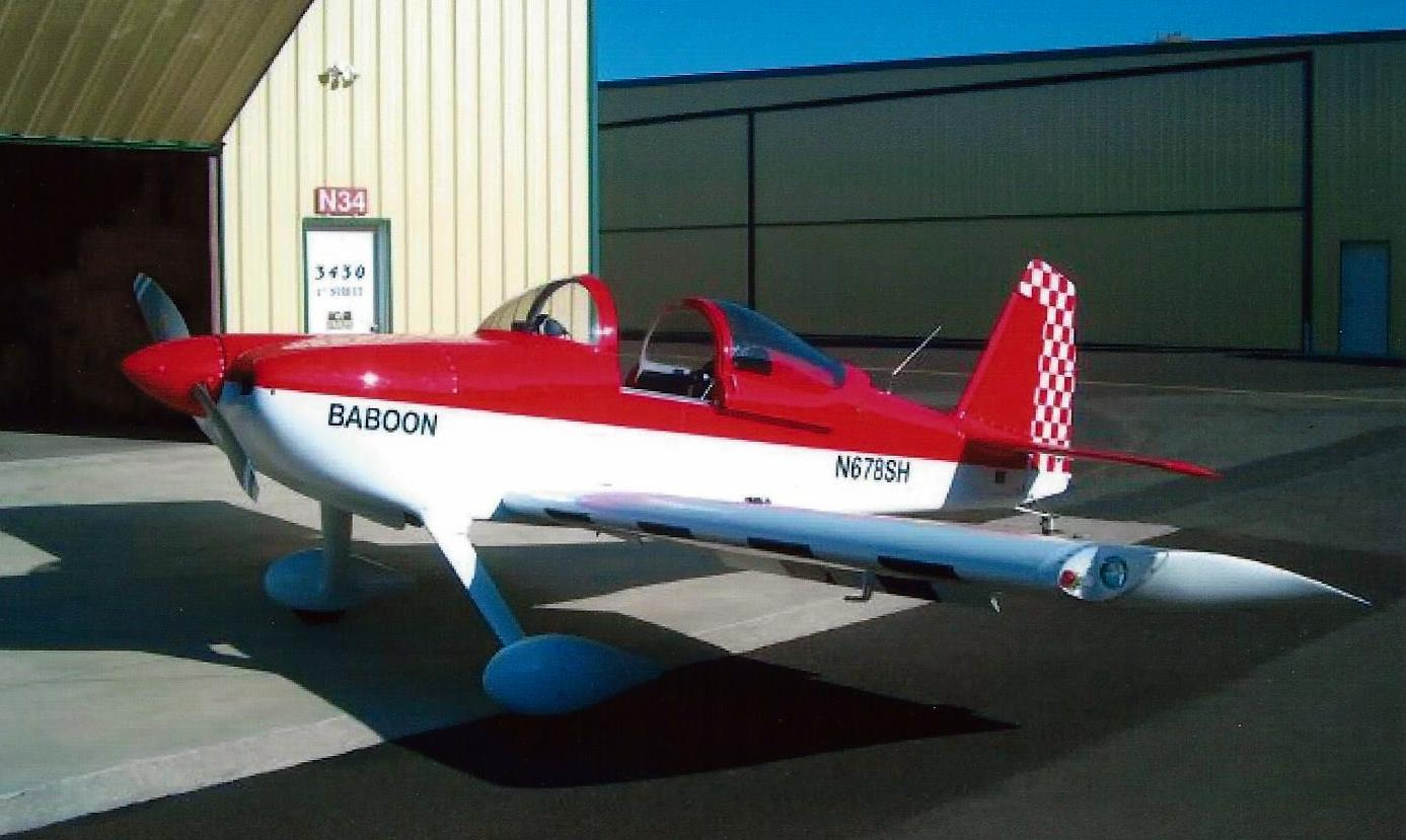 Custom RV-6 single seat
