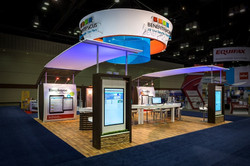 Custom display for Exhibit Concepts