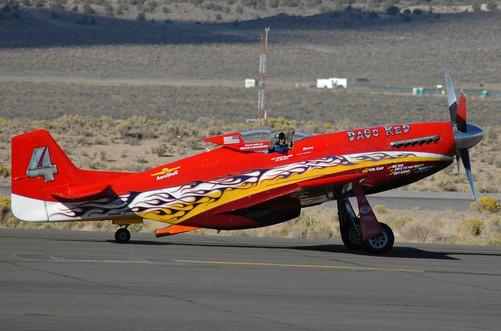 """P-51 """"Dago Red"""""""