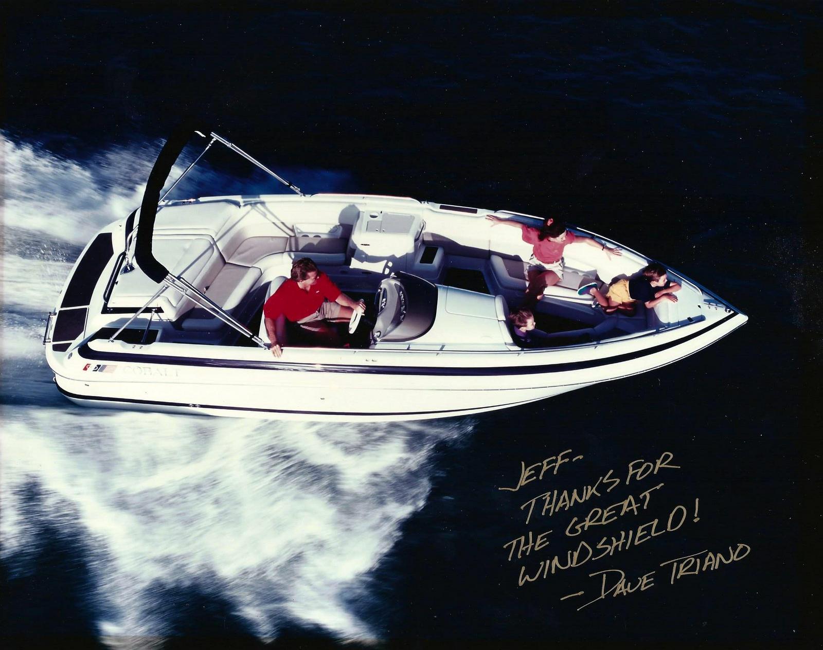 Cobalt boat Windshield
