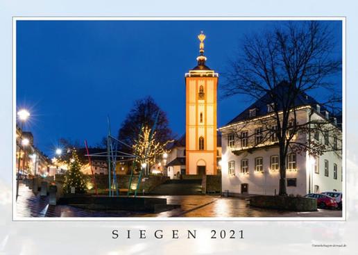 Fotokalender Siegen 2021 Hauptblatt